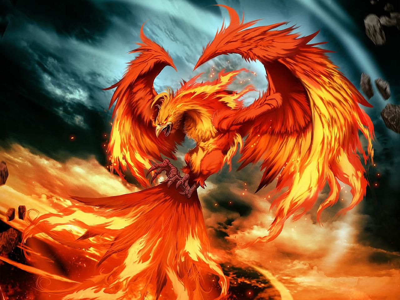 Феникс – символ возрождения и неиссякаемой внутренней силы