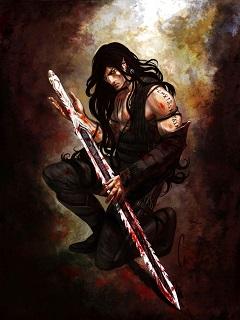 эльфы воины картинки, эльфийский меч, картинка фэнтези, эльфы картинки