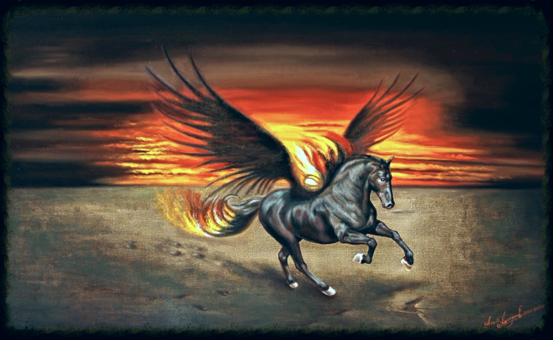 Пегас крылатый конь
