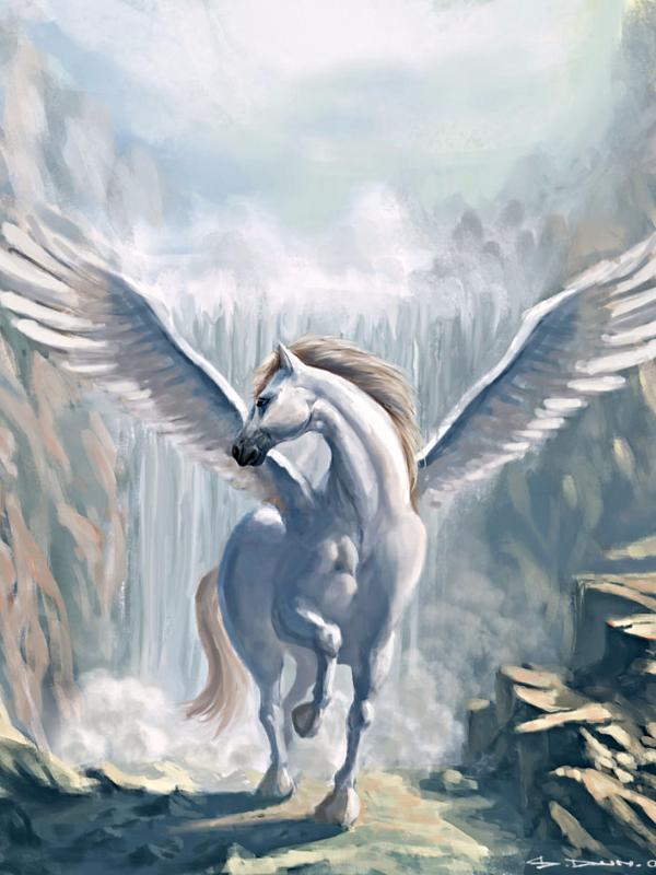 картинки лошадей пегасов